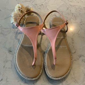 Elle Rhinestone sandals